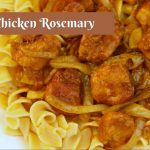 Braised Chicken Rosemary