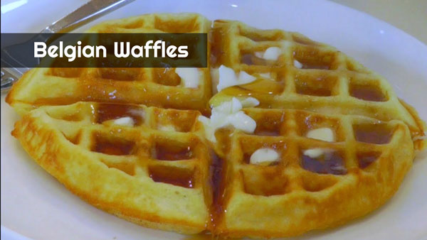 The Best Homemade Belgian Waffles | Amy