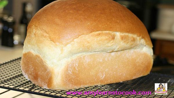Bread Machine Honey White Bread