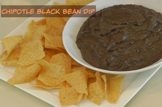 Chipotle Black Bean Dip or Refried Beans