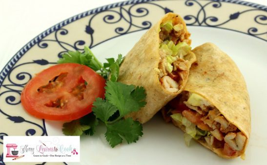 Chipotle Chicke Wrap with Avocado