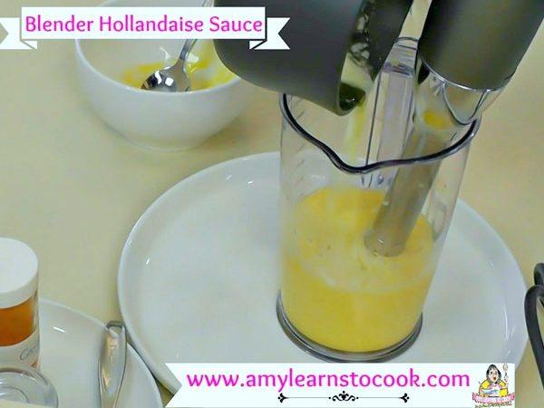 Blender Hollandaise Sauce