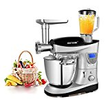 Cheftronics 7 Quart Stand Mixer Multifunction with Heating