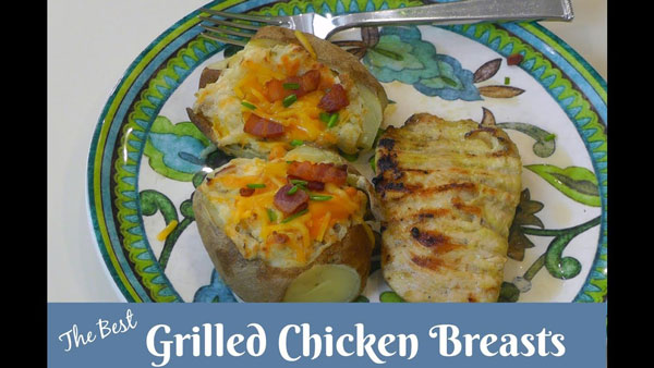 The Best Grilled Chicken Breasts