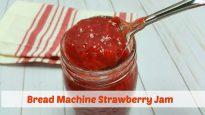 Bread Machine Strawberry Jam
