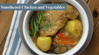Smothered Chicken with Vegetables