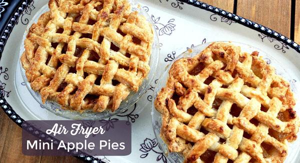 Air Fryer Mini Apple Pies