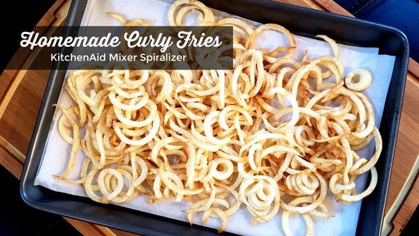 Homemade Curly Fries