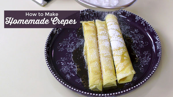 How to Make Basic French Crepes