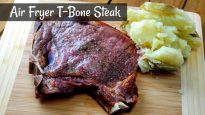 Air Fryer T-Bone Steak