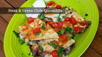 Steak and Green Chile Quesadilla