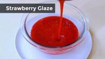 Strawberry Glaze or Sauce
