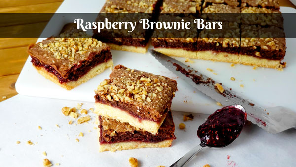Raspberry Brownie Bars How to Make Bar Cookies