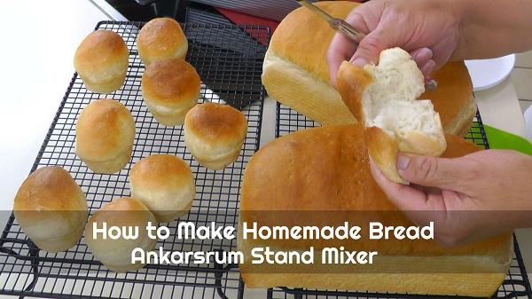 Large Batch White Bread Recipe