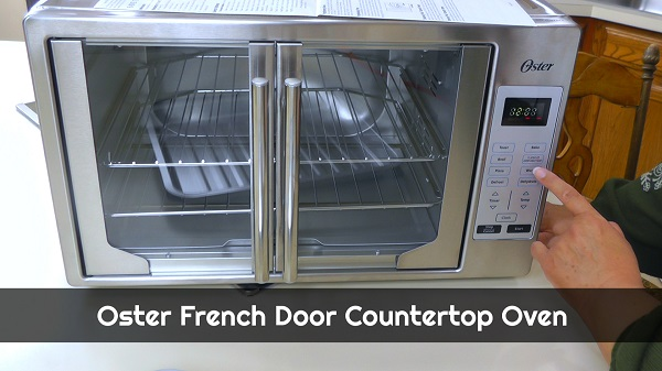 Oster French Door Countertop Oven