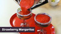 How to Make Strawberry Margaritas