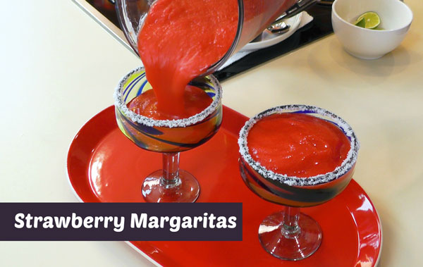 How to Make Strawberry Margaritas