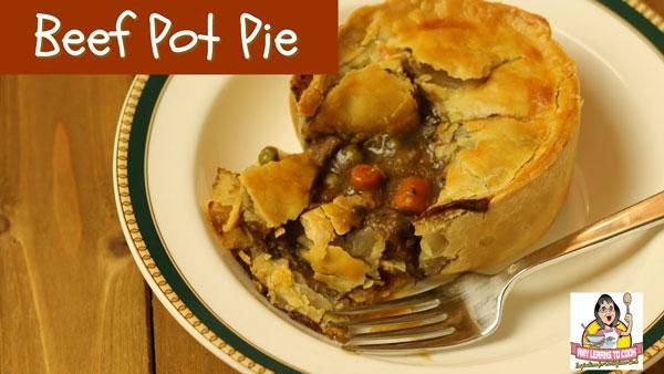 Instant Pot Beef Pot Pie