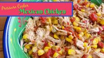 Pressure Cooker Mexican Chicken