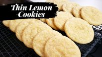 Thin Lemon Cookies