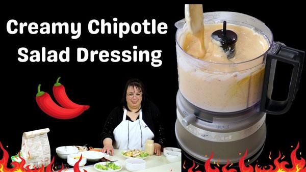 Creamy Chipotle Salad Dressing